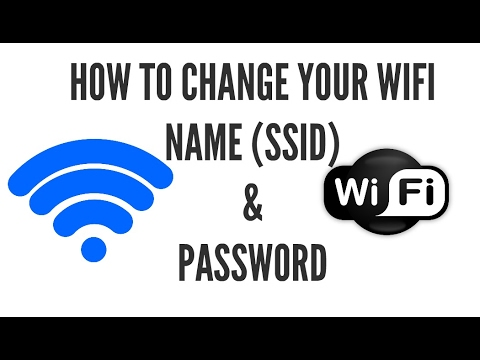 How to Change Your Wifi (SSID) Name & Password