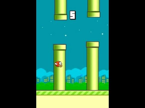 Flappy Bird Android - Fly Trough the Pipe Cheat Hack Result