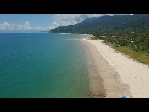 Sand and Stars Dipaculao Drone video