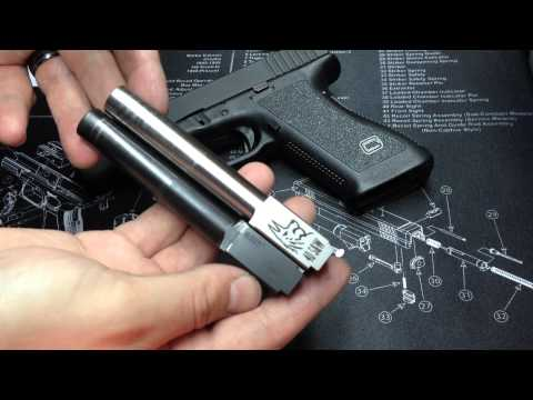 Lone Wolf Barrel vs Glock Barrel- Glock 22 accuracy test at the range