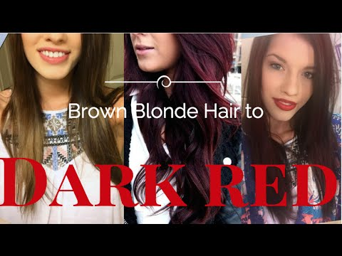 How To: Dark red hair from Blonde brown ( L'oreal PARiS Preference Mousse Absolue )