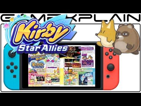Kirby: Star Allies - Latest Famitsu Reveals New Abilities & Bosses!