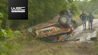 WRC - ORLEN 74th Rally Poland 2017: Highlights Stages 1-5