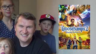 SawItTwice - Goosebumps 2: Haunted Halloween Official Trailer Live Reaction