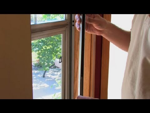 How to Repair Up/Down Sliding Windows : Window Cleaning