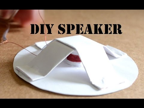 How to make a Homemade Speaker