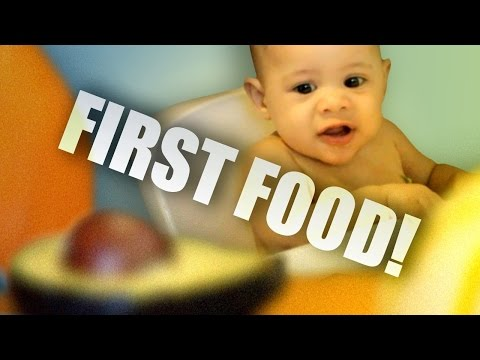 Baby Led Weaning - Dexter's First Food - Six Months Old