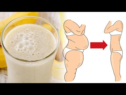 Magical Banana Smoothie for Incredible Weight Loss