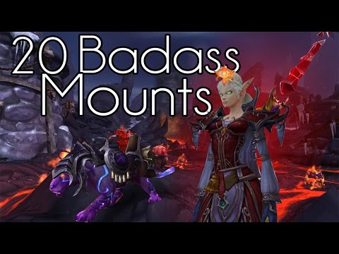 Top 20 Badass Flying Mounts | World of Warcraft | Warlords of Draenor