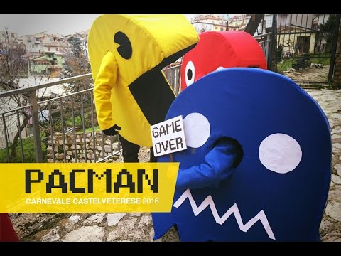 PACMAN & Ghost | Game Costume DIY