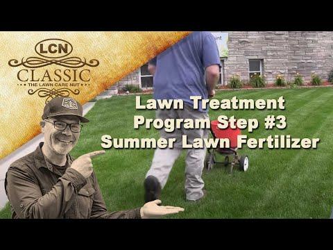 Lawn Treatment Program Step #3 | Summer Lawn Fertilizer