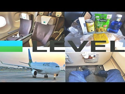 Level Airlines ECONOMY Barcelona to Los Angeles|A330-200