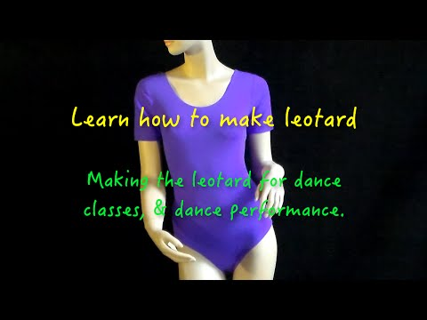 How to make leotard