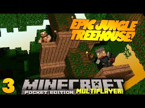 Minecraft PE Multiplayer 0.9.0 EP 3