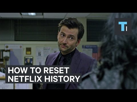 How to reset your Netflix history