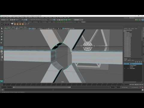 Tie Fighter Modelling in Maya Part 7