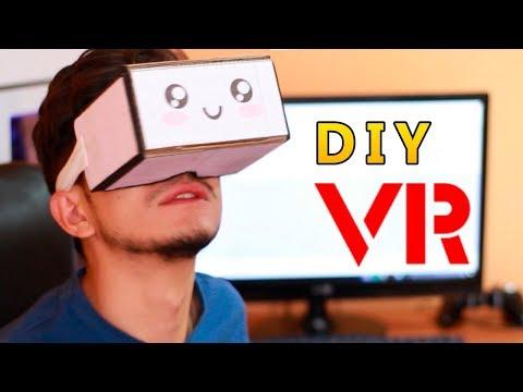 [DIY]  How to make vr cardboard - New easy version