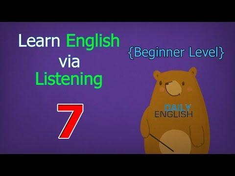 Learn English via Listening Beginner Level | Lesson 7 | Jennifer the Firefighter