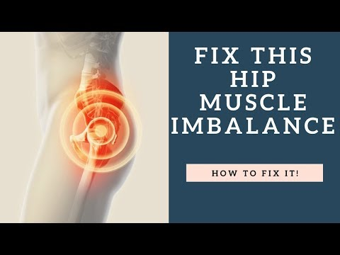 FIX This Hip Muscle Imbalance To Relieve Hip And Knee Pain (Exercise Demo Shown)