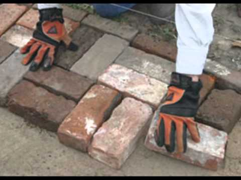 How to Lay a Patio without Brick-Cutting