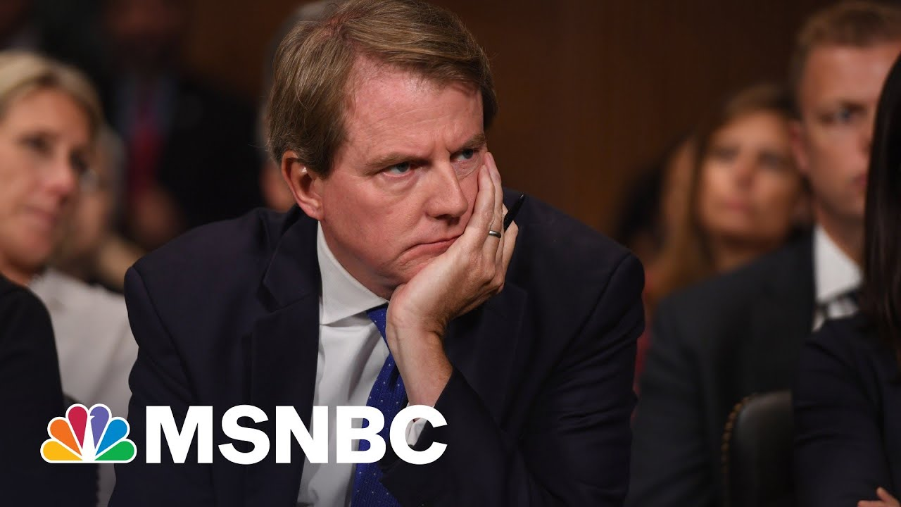 Potential Trump Indictment Moves Closer With McGahn's Testimony