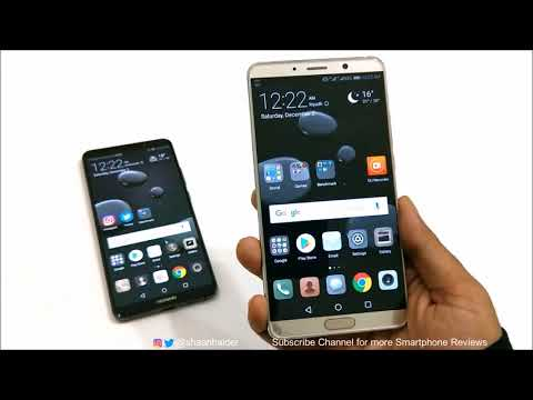 Top 5 Reasons Huawei Mate 10 is Better than the Huawei Mate 10 Pro