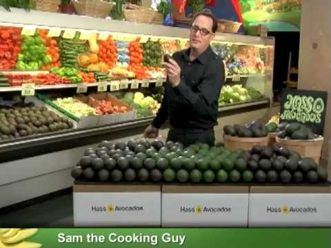 How to Pick/Choose An Avocado - Tips for Buying Avocados with Sam the Cooking Guy