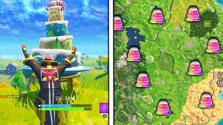 Cake Locations In Fortnite Battle Royale How To Get Free V Bucks Unblocked