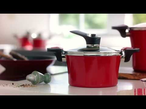 HAPPYCALL - RED ADDICTION IH VACUUM POT - IMAGES BY HEAP SENG GROUP