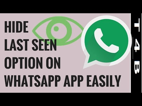 how to hide last seen in whatsapp Android | iPhone | Windows Mobile