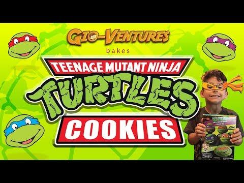 DIY Baking Cookies : Ninja Turtle Cookies