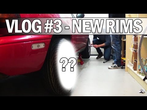 MiataMods Vlog #3 - New rims, tires, steering wheel and quick release!