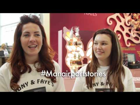 #ManAirportStories - Faye & Megan flying to Las Vegas