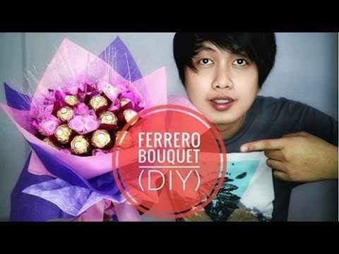 Ferrero Rocher Bouquet |DIY How to make Chocolate Bouquet | Ferrero Rocher Bouquet |