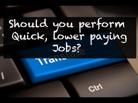 Should I do cheap work? (Freelance Translation Tips 18)