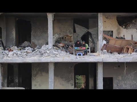 Displaced from Ghouta, Syrians seek refuge in emptied Afrin