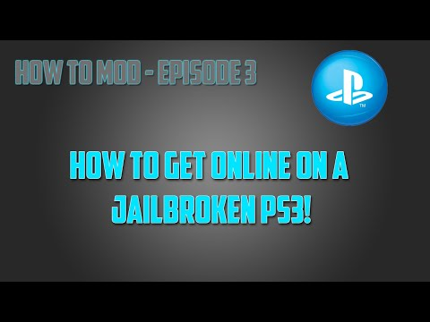 How to Go Online on a Jailbroken PS3 (HD) - How To Mod Ep.3