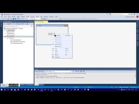 First VB .Net GUI App | Hello World | Visual Studio 2017