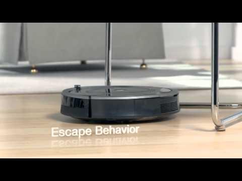 iRobot Roomba® 700 Series Vacuum Cleaning Robot iAdapt Technology