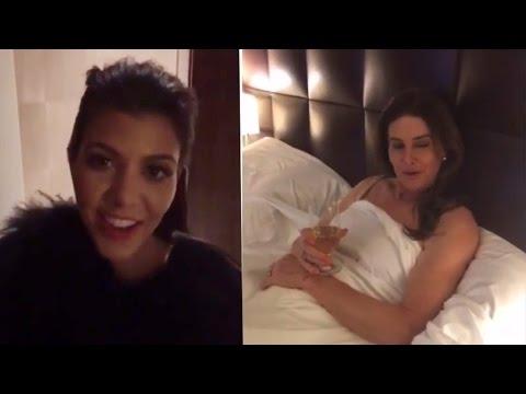 Kourtney Kardashian & Caitlyn Jenner Crash Kylie's Snapchat Soap Opera!