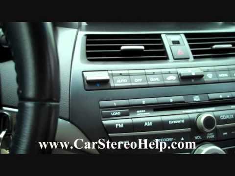 Honda Accord Bose Car Audio - Car Stereo Removal 2008 - 2012 replace 6 cd repair