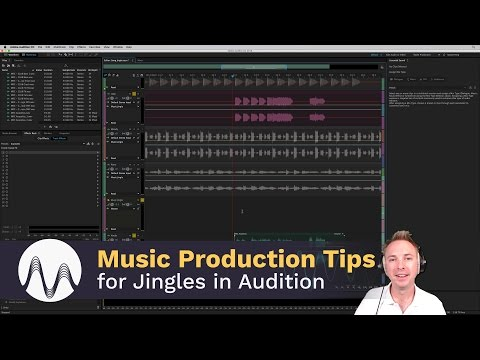 Music Production Tips for Jingles in Adobe Audition