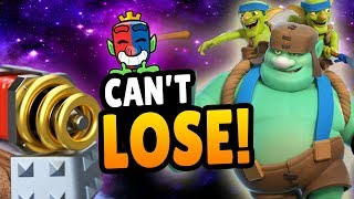 Download THIS DECK CAN'T LOSE! GOBLIN GIANT + SPARKY! 20 Wins CRL Deck   Clash Royale Video