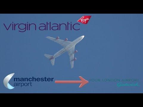 Virgin Atlantic Flight 878 (Manchester to Gatwick)