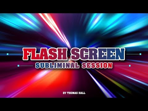 Motivation to Get Things Done - Flash Screen Subliminal Session - By Thomas Hall