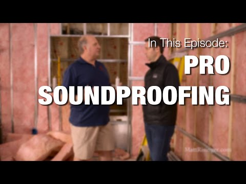 How To Soundproof A Recording Studio