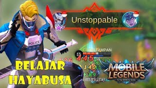 HAYABUSA TOP GLOBAL IN YOUR HEART - Mobile Legends Indonesia