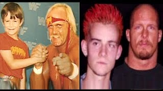 10 WWE Wrestlers as Kids Meeting Wrestlers in Real Life