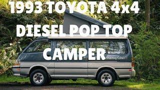 ffeaa473e92579 17 57 · 1993 Toyota Hiace Camper Van Cruising Cabin 4x4 Diesel ...