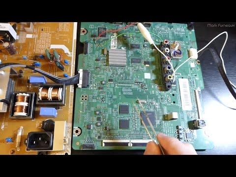 Repairing a Lightning Stricken Plasma TV